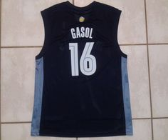 Rare Vintage REEBOK Memphis Grizzlies Pau Gasol NBA Jersey Men's Large in Sports Mem, Cards & Fan Shop, Fan Apparel & Souvenirs, Basketball-NBA | eBay
