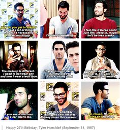 Happy birthday Tyler Hoechlin!!! September 11