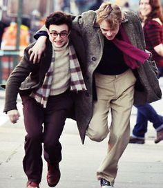 Kill Your Darlings Set Pictures   Daniel Radcliffe & Dane DeHaan #BurningFuriouslyBeautiful https://www.facebook.com/BurningFuriouslyBeautiful