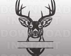 Buck Head Deer Hunting SVG File Cutting by sammo on Etsy