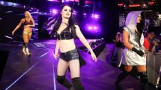 """""""Fighting with My Family,"""" in theaters now, chronicles Paige's journey to becoming a WWE Superstar. See the film and check out these photos from her legendary career. Paige Knight, Paige Photos, The Jersey Devil, Saraya Jade Bevis, Wwe Sasha Banks, Paige Wwe, In Theaters Now, Wwe Photos, Wwe Superstars"""