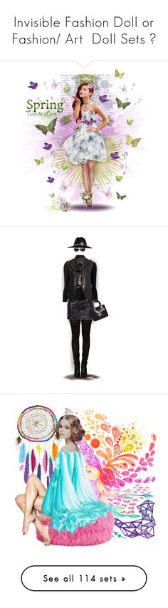 """""""Invisible Fashion Doll or Fashion/ Art  Doll Sets 😀"""" by ragnh-mjos ❤ liked on Polyvore featuring contest, outfit, doll, invisibledoll, art, Dsquared2, Plein Sud Jeanius, Givenchy, Area Di Barbara Bologna and Ted Baker"""