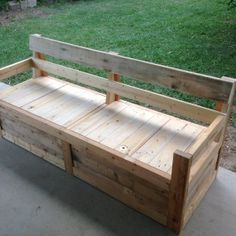 OK here's an idea for an outdoor couch.
