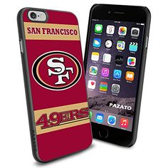"""San Francisco 49ers iPhone 6 4.7"""" Case Cover Protector for iPhone 6 TPU Rubber Case SHUMMA http://www.amazon.com/dp/B00T48IJVQ/ref=cm_sw_r_pi_dp_YwKKwb0EJBT9Z"""