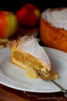 Grandma's apple pie – Maria, I like it! Oven Baked French Toast, French Toast Bake, French Toast Casserole, Delicious Cake Recipes, Healthy Dessert Recipes, Yummy Cakes, Desserts, Cake Flour Recipe, Healthy Banana Muffins