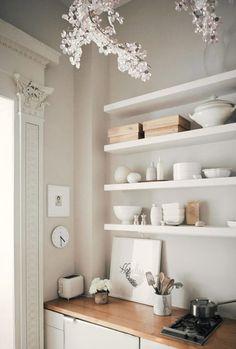 inspiring neutral kitchen decor. / sfgirlbybay