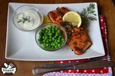 Omlós lazac - Keva Blog Entrees, Salmon, Fish, Cooking, Ethnic Recipes, Blog, Kitchen, Lobbies, Pisces