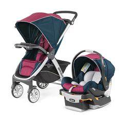 "Chicco Bravo Trio Travel System Stroller - Blackberry - Chicco - Babies ""R"" Us"