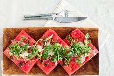 Golubka: Summer Cooking and a Tipsy Watermelon Salad