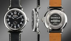 The Shinola Runwell 47 mm - now this is a good watch, and it's Detroit-made