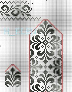 17 Best images about Fair Isle / Norwegian / Icelandic . 17 Best images about Fair Isle / Norwegian / Icelandic . Knitted Mittens Pattern, Knit Mittens, Knitted Gloves, Knitting Socks, Knitting Wool, Filet Crochet, Crochet Chart, Knitting Charts, Knitting Stitches