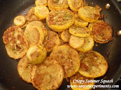 Crispy Parmesan Summer Squash