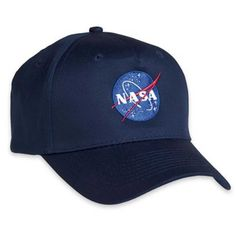 Thisadult hat cap carriesan officially licensed NASAembroidered logo. Also available as an adult and youth pique knit polo shirt and T-shirt. Known as the NASA meatball logo, this cap is embroidered in USA on imported garment. Adjustable, One size fits most. Officially Licensed by ComputerGear - don't buy counterfeit from other sellers. A ComputerGear exclusive.