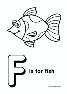 find this pin and more on clip art letters numbers letter f coloring page