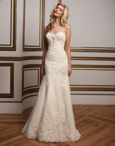 Justin Alexander wedding dresses style 8811 A plunging sweetheart neckline  with floating beaded lace appliques is 4299c16583c1