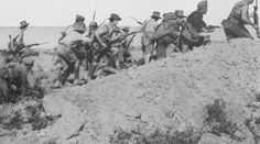 Anzac charge at Gallipoli