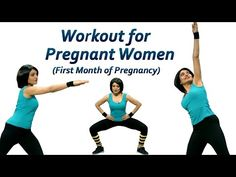 Pregnancy Exercises in the First Trimester - Exercise & Fitness - YouTube