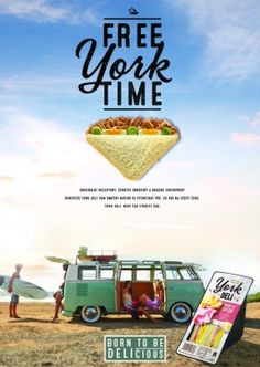 York Deli Poster A2, A3 surf