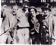 Lou Gehrig and the Marx Brothers.