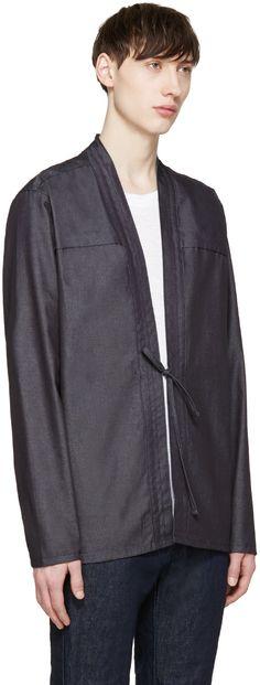Naked & Famous Denim - Indigo Denim Kimono