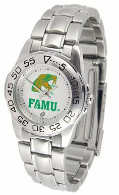 Florida A University Rattlers Sport Steel Band - Ladies - Women's College Watches by Sports Memorabilia. $50.76. Makes a Great Gift!. Florida A University Rattlers Sport Steel Band - Ladies