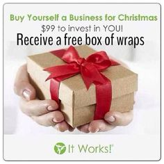 Gift that keeps on giving! It will change your life, just like it did for me! Ask me how