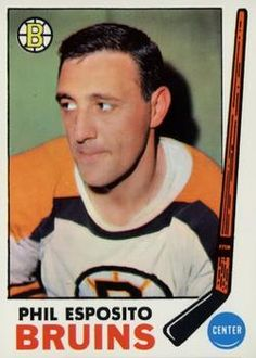 1969-70 Topps #30 Phil Esposito Front
