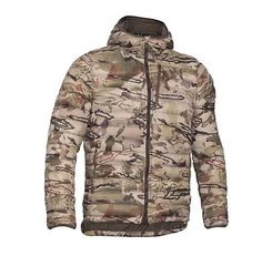 Under Armour Men s Ridge Reaper 33 Hoodie Hunting Camo Jacket Size XL Under  Armour Camo Hoodie 83b67929c834