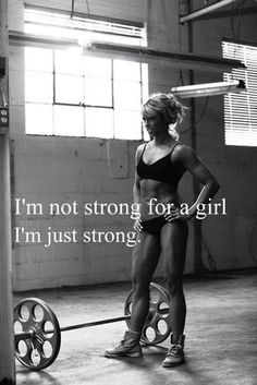 BodySpace FitBoard. I'm not strong for a girl, I'm just strong. Bodybuilding.com