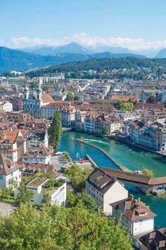In Lucerne, Switzerland.
