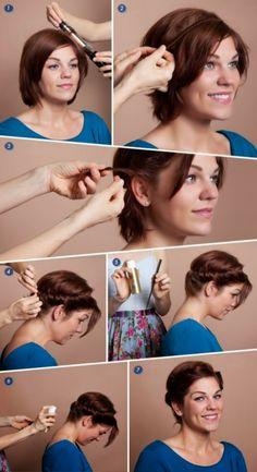 Friz?ras un pam?c?bas (Hairstyle tutorials)