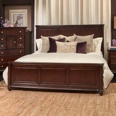 Wooden furniture design bed Indian Style Hamilton Cherry Queen Bedroom Set Pinterest Latest Wooden Bed Designs 2016 Amazing Modern Double Bed Designs