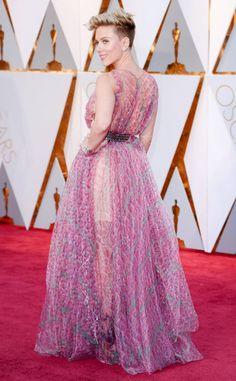 Worst Dressed Stars at the 2017 Oscars: Scarlett Johansson, Ginnifer Goodwin