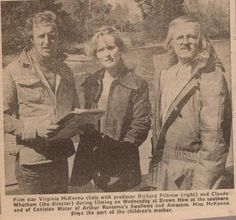 Local article on the film of 'Swallows and Amazons' being shot in the Lake District in 973
