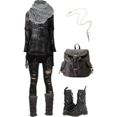 Strega punk by shortcuttothestars on Polyvore featuring polyvore, fashion, style, UNIF, Avant Toi, Anna Field, Dr. Martens, Charlotte Russe, Rachel Roy and A Postcard From Brighton