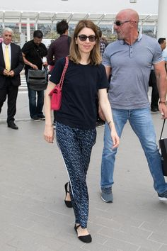 Sofia Coppola at Nice Airport May 2017