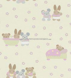 1000 images about papel pintado para beb on pinterest - Papeles pintados bebe ...