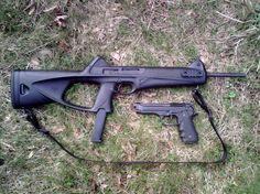 CX4 storm and M9 Beretta 92 9mm pistol - www.Rgrips.com