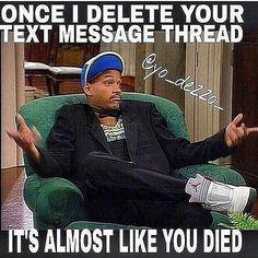 T. F. Y. M. W. ..you've deleted a hater's text thread