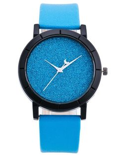 Faux Leather Moon Baby Breath Quartz Watch #CLICK! #clothing, #shoes, #jewelry, #women, #men, #hats