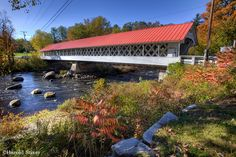 Ashuelot Covered Bridge, New Hampshire | Nature Notes