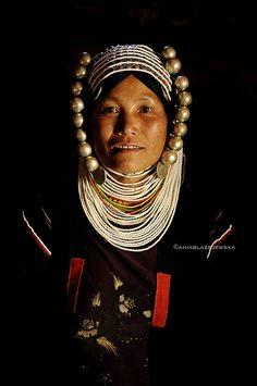 Akha woman, Burma