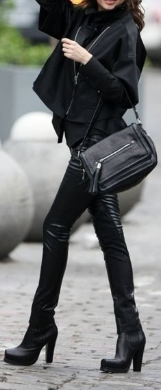 Street Style | Leather