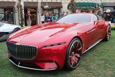 Video interview with Stefan Lamm, Vice President of Mercedes' Advanced Design studio in Carlsbad California, on the Vision Mercedes-Maybach 6 Bmw Classic Cars, Classic Sports Cars, Front End Design, Mercedes Benz Maybach, Chrome Door Handles, Carlsbad California, Pebble Beach Concours, Diesel Cars, Benz S