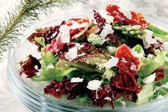 Πράσινη σαλάτα µε σπαράγγια και τραγανό προσούτο-featured_image
