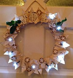 Noel Star Wreath