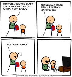Parent of the year Cyanide and Happiness Funny Cartoons, Funny Comics, Funny Jokes, Hilarious, Stupid Funny, Funny Cute, The Funny, Cyanide And Happiness Comics, 4 Panel Life