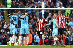 Cuplikan Goal Premier League : Manc City 2 – 1 Sunderland