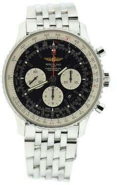 Breitling Navitimer 01 AB012721 Stainless Steel Black Dial Automatic 46mm Mens Watch