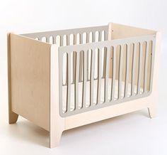 designforkidz - Minimalistic design baby crib made from birch by Kukuu. Design for kids. Kids Bed Furniture, Sofa Bed, Cribs, Sofas, Nursery, Shelves, Bird, Design, Cocoa